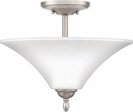 Quoizel KGF1715BN Kingfield Brushed Nickel Flush Mount Lighting Fixture