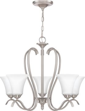 Quoizel KGF5005BN Kingfield Brushed Nickel Hanging Chandelier