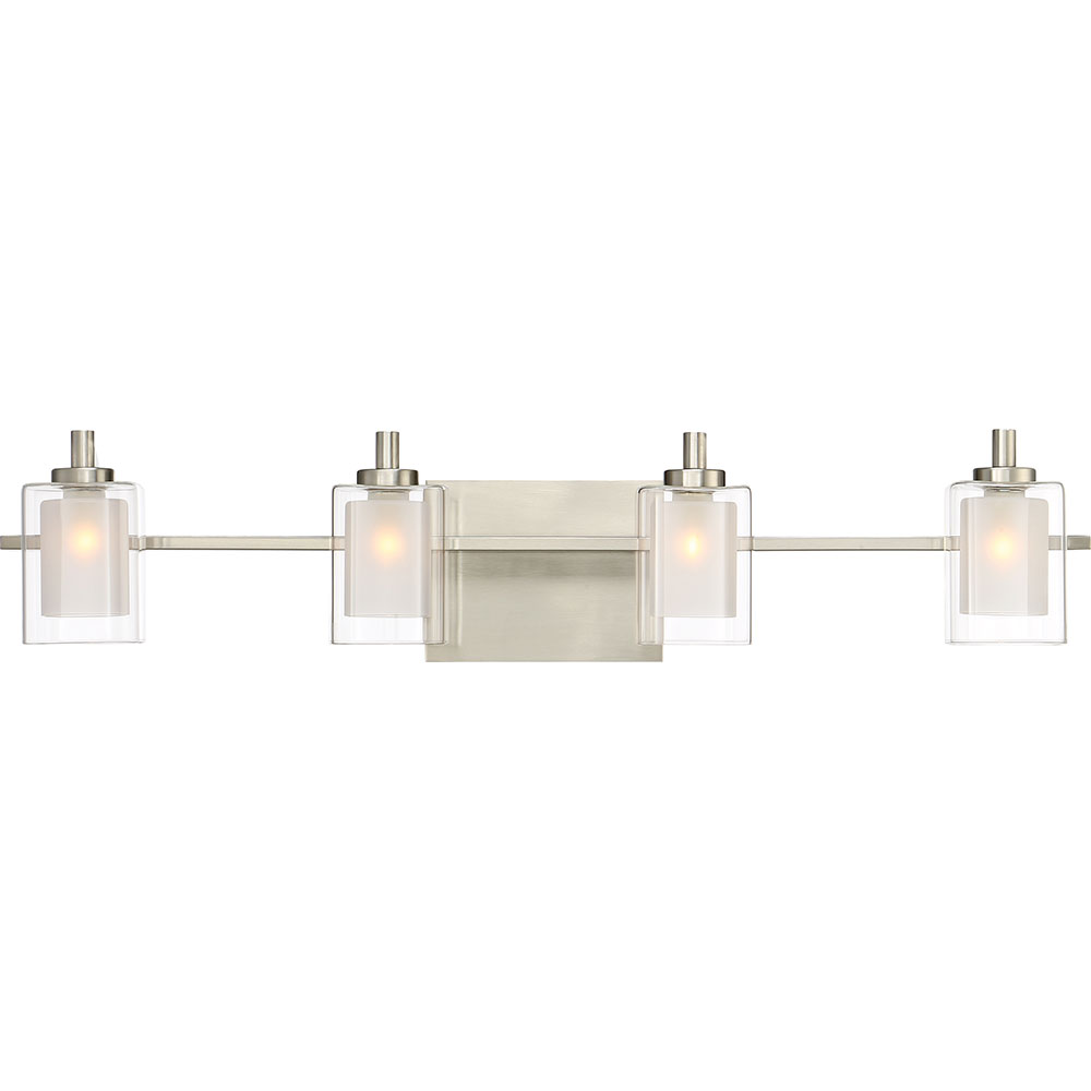 Quoizel KLT8604BNLED Kolt Contemporary Brushed Nickel LED 4-Light ...