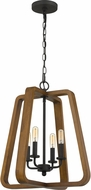 Quoizel KPK5204GK Keepsake Modern Grey Ash 18  Foyer Light Fixture