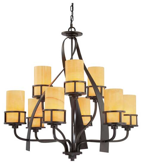 Quoizel Ky5009ib Kyle 9 Light Chandelier