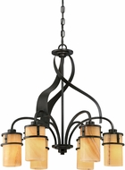 Quoizel KY5106IB Kyle Imperial Bronze Ceiling Chandelier