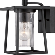 Quoizel LDG8406K Lodge Mystic Black Finish 9  Tall Exterior Wall Light Sconce