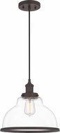 Quoizel LEOC1512OZ Leo Old Bronze Ceiling Light Pendant