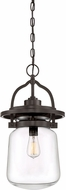 Quoizel LLE1911WT LaSalle Modern Western Bronze Outdoor Hanging Lamp