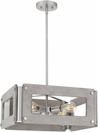 Quoizel LNY2819BN Lonny Modern Brushed Nickel Pendant Lighting Fixture