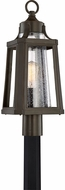 Quoizel LTE9009PN Lighthouse Modern Palladian Bronze Outdoor Post Lighting