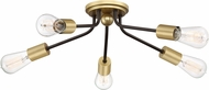 Quoizel LTT1628WT Latitude Contemporary Western Bronze Home Ceiling Lighting
