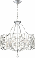 Quoizel LUL5022C Lulu Contemporary Polished Chrome Drop Ceiling Lighting