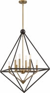 Quoizel LVR5208WT Louvre Contemporary Western Bronze 29  Foyer Lighting Fixture