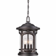Quoizel MBH1911PN Marblehead Traditional Palladian Bronze Finish 18  Tall Outdoor Hanging Light Fixture