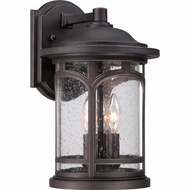 Quoizel MBH8409PN Marblehead Traditional Palladian Bronze Finish 14.5 Tall Outdoor Lamp Sconce