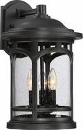 Quoizel MBH8411K Marblehead Mystic Black Outdoor Wall Light Sconce