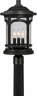Quoizel MBH9011K Marblehead Mystic Black Exterior Lighting Post Light