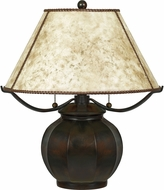 Quoizel MC5207TVA Mica Valiant Bronze Table Lamp