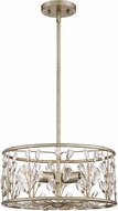 Quoizel MDL1716VG Meadow Lane Vintage Gold 16  Drum Pendant Lighting