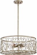 Quoizel MDL2820VG Meadow Lane Vintage Gold 20  Drum Pendant Light