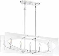 Quoizel MDP538C Midpoint Modern Polished Chrome Island Light Fixture