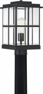 Quoizel MGN9008MBK Mulligan Craftsman Matte Black Exterior Post Lighting