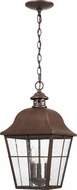 Quoizel MHE1910CU Millhouse Traditional Copper Bronze Outdoor Hanging Lamp