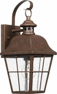 Quoizel MHE8406CU Millhouse Traditional Copper Bronze Exterior Small Wall Sconce Lighting