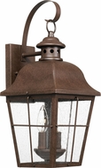 Quoizel MHE8409CU Millhouse Traditional Copper Bronze Outdoor Medium Wall Mounted Lamp