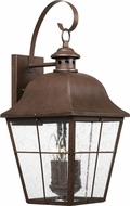 Quoizel MHE8410CU Millhouse Traditional Copper Bronze Exterior Large Wall Light Sconce