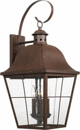 Quoizel MHE8412CU Millhouse Traditional Copper Bronze Outdoor Extra Large Wall Lighting Fixture