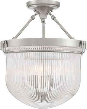 Quoizel MHY1715BN Murphy Modern Brushed Nickel Ceiling Light Fixture