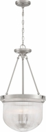 Quoizel MHY2815BN Murphy Contemporary Brushed Nickel Hanging Light Fixture