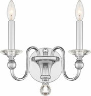 Quoizel MIL8702C Mila Polished Chrome Lighting Sconce