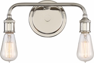 Quoizel MNO8602IS Menlo Contemporary Imperial Silver 2-Light Vanity Light