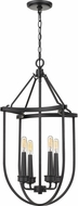 Quoizel MRG5204EK Mooring Contemporary Earth Black Entryway Light Fixture