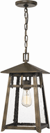 Quoizel MRL1909SU Merle Vintage Statuary Bronze Exterior 3-Light Mini Ceiling Pendant Light