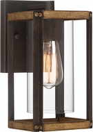 Quoizel MSQ8406RK Marion Square Rustic Black Outdoor Lamp Sconce