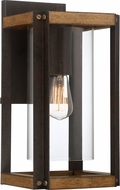 Quoizel MSQ8409RK Marion Square Rustic Black Outdoor Wall Light Fixture
