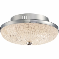 Quoizel MYS1612C Moon Rays Polished Chrome LED 12  Flush Lighting