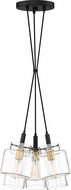 Quoizel NAO2603EK Naomi Contemporary Earth Black Multi Ceiling Light Pendant