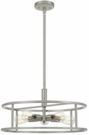 Quoizel NHR2820BN New Harbor Modern Brushed Nickel Drop Ceiling Light Fixture