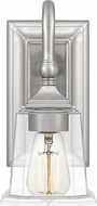 Quoizel NLC8601BN Nicholas Brushed Nickel Lighting Wall Sconce