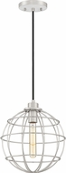 Quoizel NVG1511BN Navigator Contemporary Brushed Nickel Mini Pendant Light Fixture