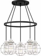 Quoizel NVG5005EK Navigator Modern Earth Black Multi Drop Ceiling Lighting