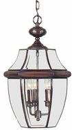 Quoizel NY1179 Newbury 21 inches tall outdoor hanging lamp