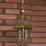 Quoizel NY1179A Newbury Antique Brass Outdoor 12.5  Pendant Lighting