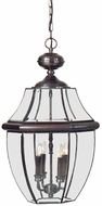 Quoizel NY1180 Newbury 26.5 inches tall outdoor hanging lamp