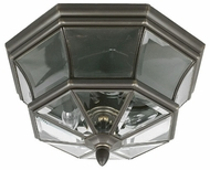 Quoizel NY1794Z Newbury outdoor ceiling lamp fixture in medici bronze