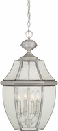 Quoizel NY1916P Newbury Pewter Outdoor Pendant Lighting Fixture