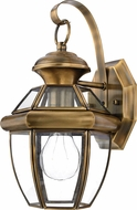 Quoizel NY8315A Newbury Antique Brass Outdoor 7  Wall Sconce