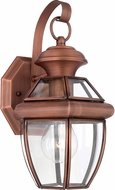 Quoizel NY8315AC Newbury Aged Copper Exterior 7  Wall Lamp