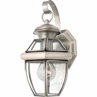 Quoizel NY8315P Newbury Pewter Outdoor 7  Light Sconce